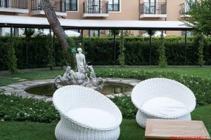 Venezia, Cipriani, giardino