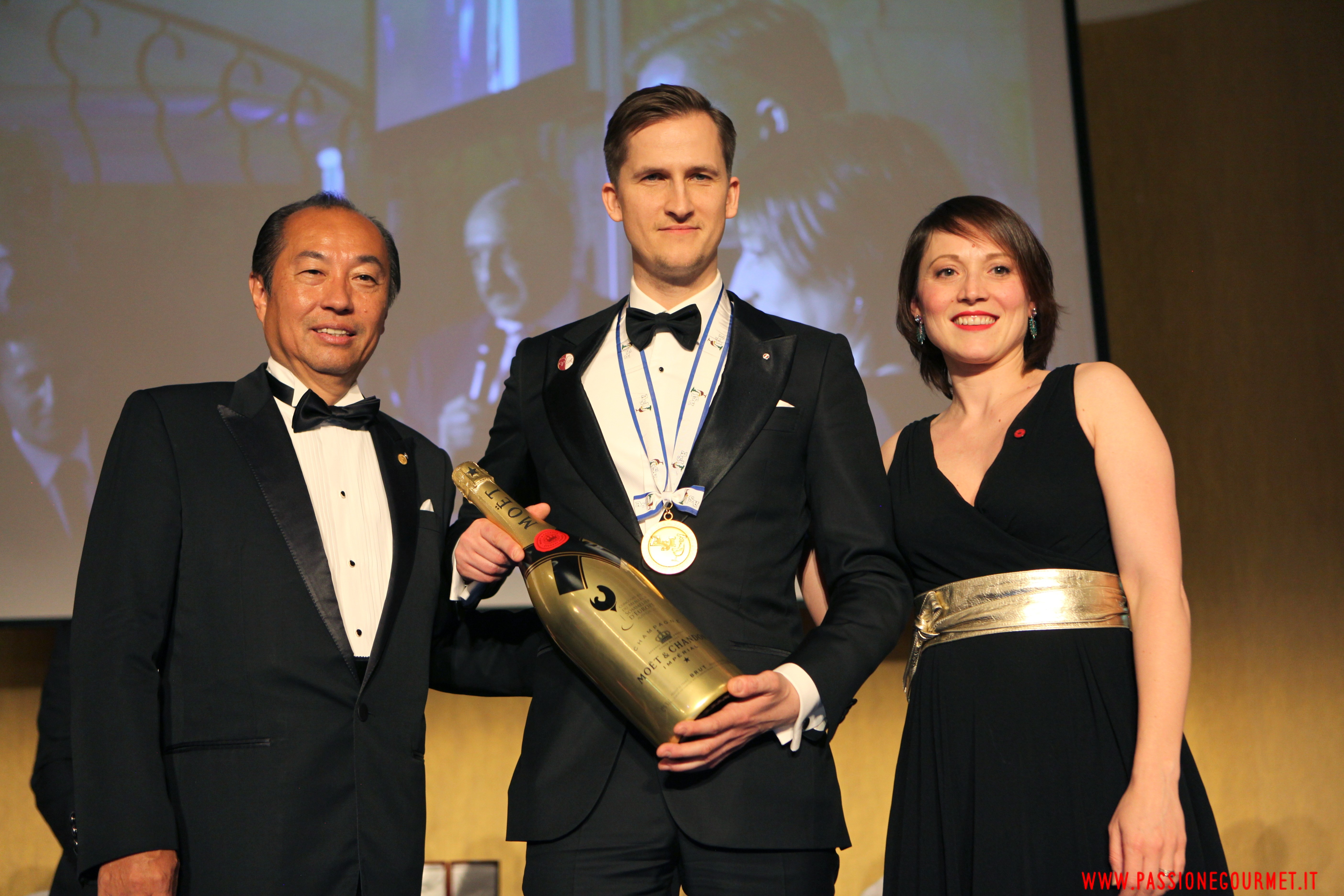 Raimonds Tomsons, The Best Sommelier of Europe & Africa 2017 – Premio Moët & Chandon