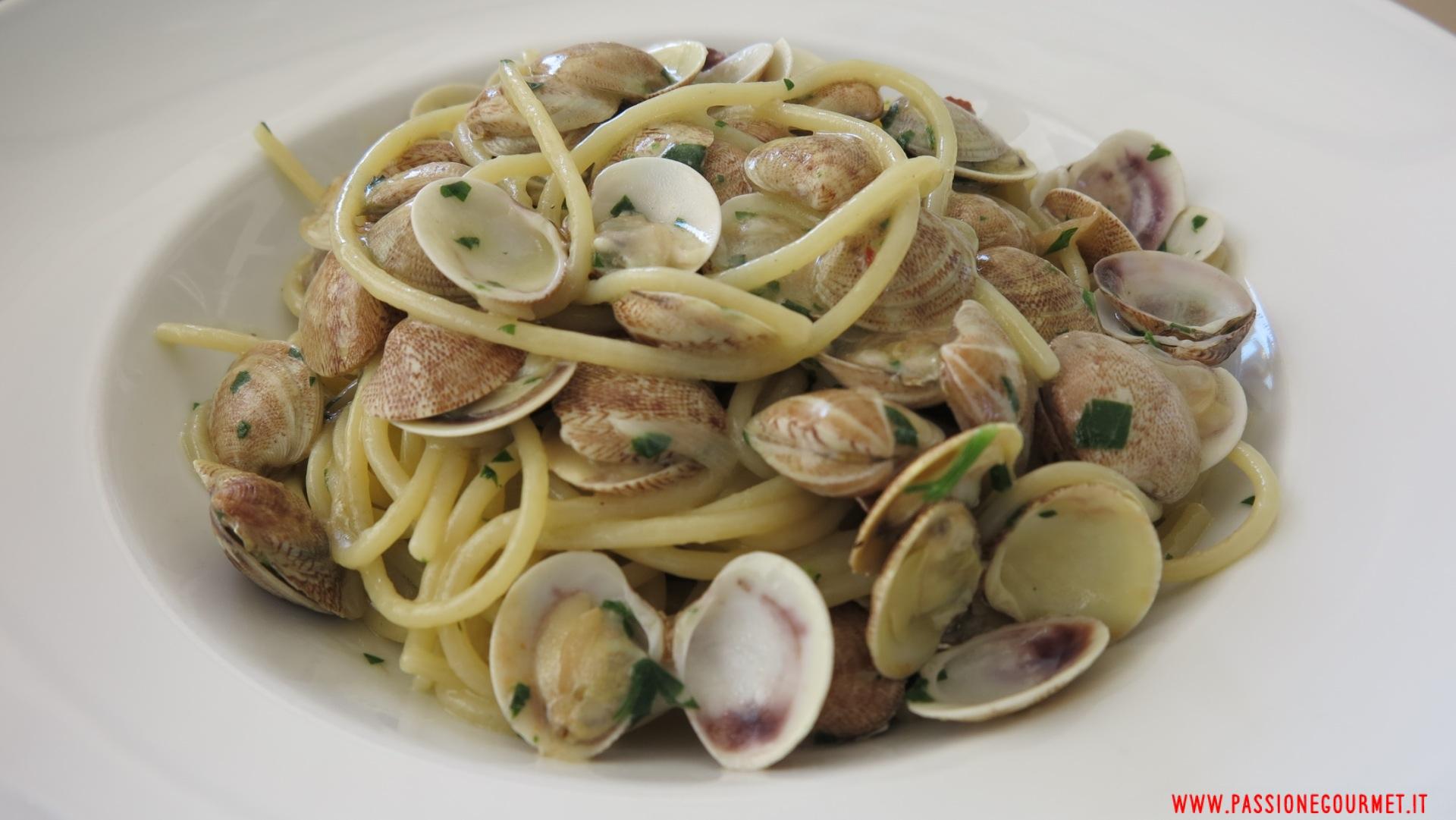 Spaghetti alle vongole, Crudo, Stella adriatica, Marche