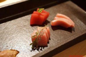 Barcellona, Koy, sashimi