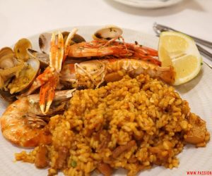 Barcellona, Rias, paella