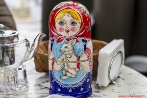 Matrioska, Mosca, White Rabbit, Vladimir Mukhin