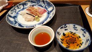 Sashimi. Iwasaki. Kyoto