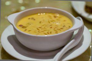 Mango soup, Macau, The Eight au Dome, Cheung Chi Shing