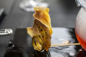 Gazpacho, Macau, Robuchon au Dome, Julien Tongiurian