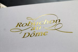 Macau, Robuchon au Dome, Julien Tongiurian