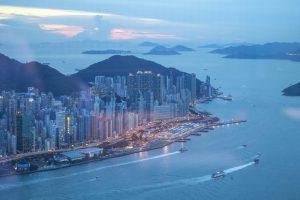 Panorama, Tenku Ryugin, Yamamoto, Hong Kong, Cina