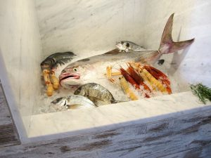 punta secca, scjabica, pesci