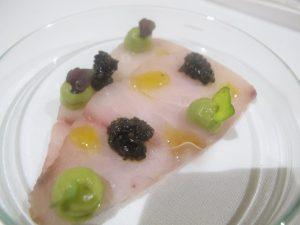 Ricciola marinata, Taverna Estia.