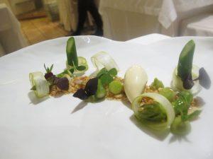 Insalatina di asparagi, Taverna Estia.