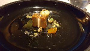 Foie gras e scones. Imago. Roma