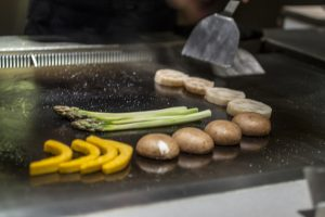 Verdure, IM Teppanyaki, Lawrence Mok, Hong Kong, Cina