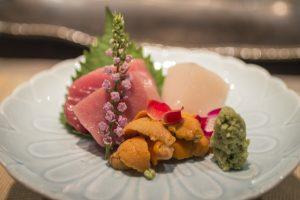 Sashimi, IM Teppanyaki, Lawrence Mok, Hong Kong, Cina