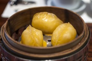 Dumplings, Lung King Heen, Chan Yan Tak, Hong Kong, Cina