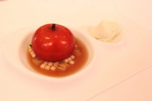 Mela annurca dessert, Don Alfonso, Napoli, Ernesto Iaccarino