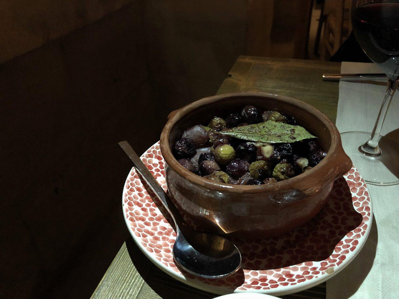 borgo egnazia, savelletri di fasano, la frasca, olive fritte.