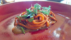 Spaghetto al pomodoro. Dal Degan. Asiago
