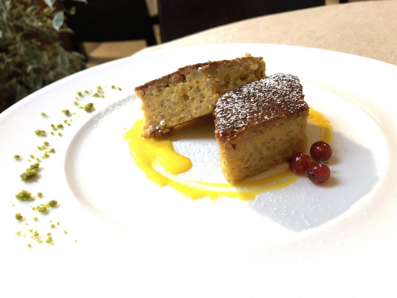 Ristorante Al Cambio, torta riso