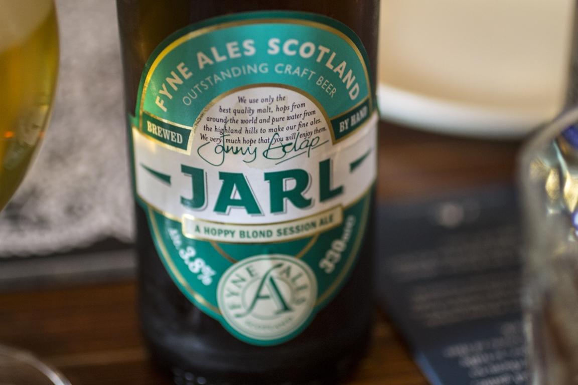 The Scran & Scallie, Tom Kitchin, Edimburgo, Scozia, birra