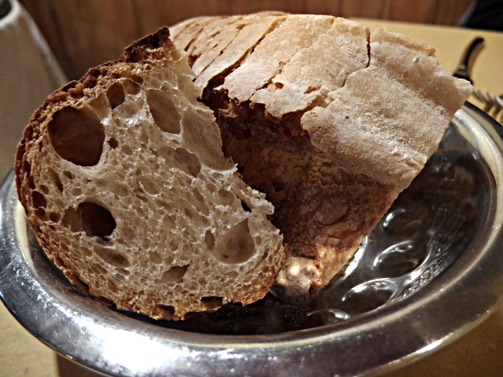 Osteria Bonelli, Pane fatto in casa