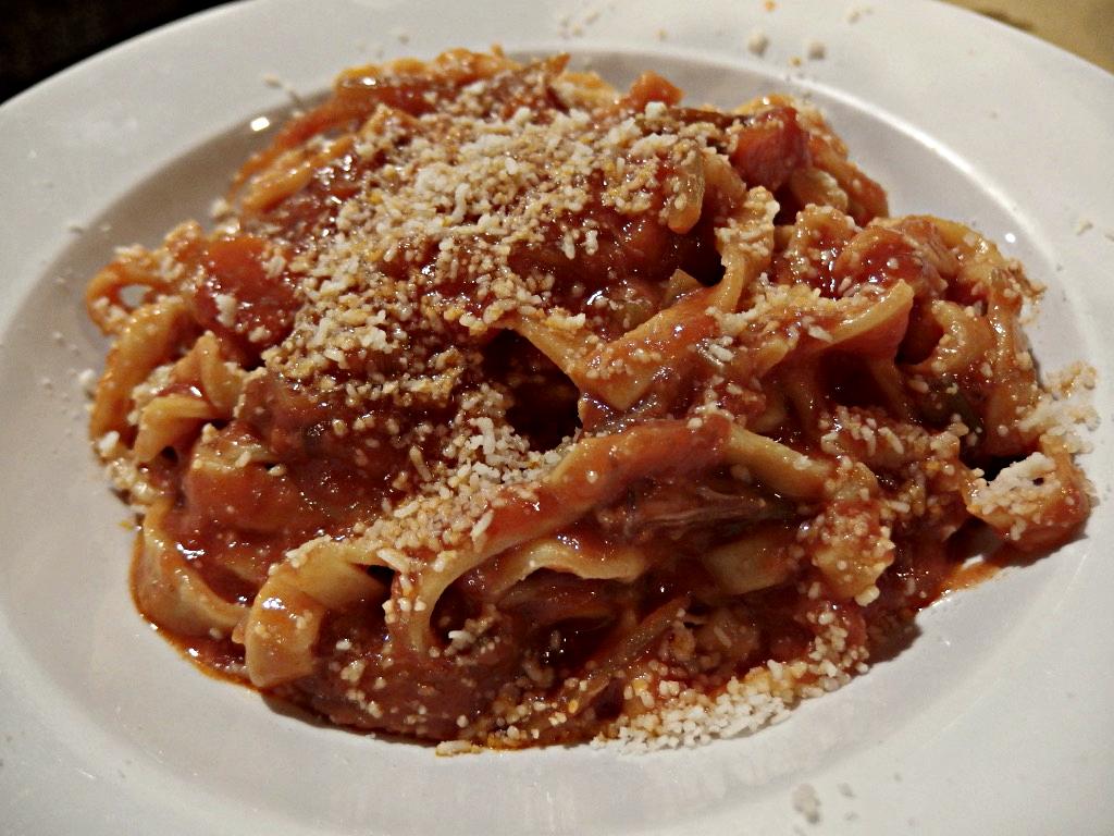 Osteria Bonelli, tagliatelle