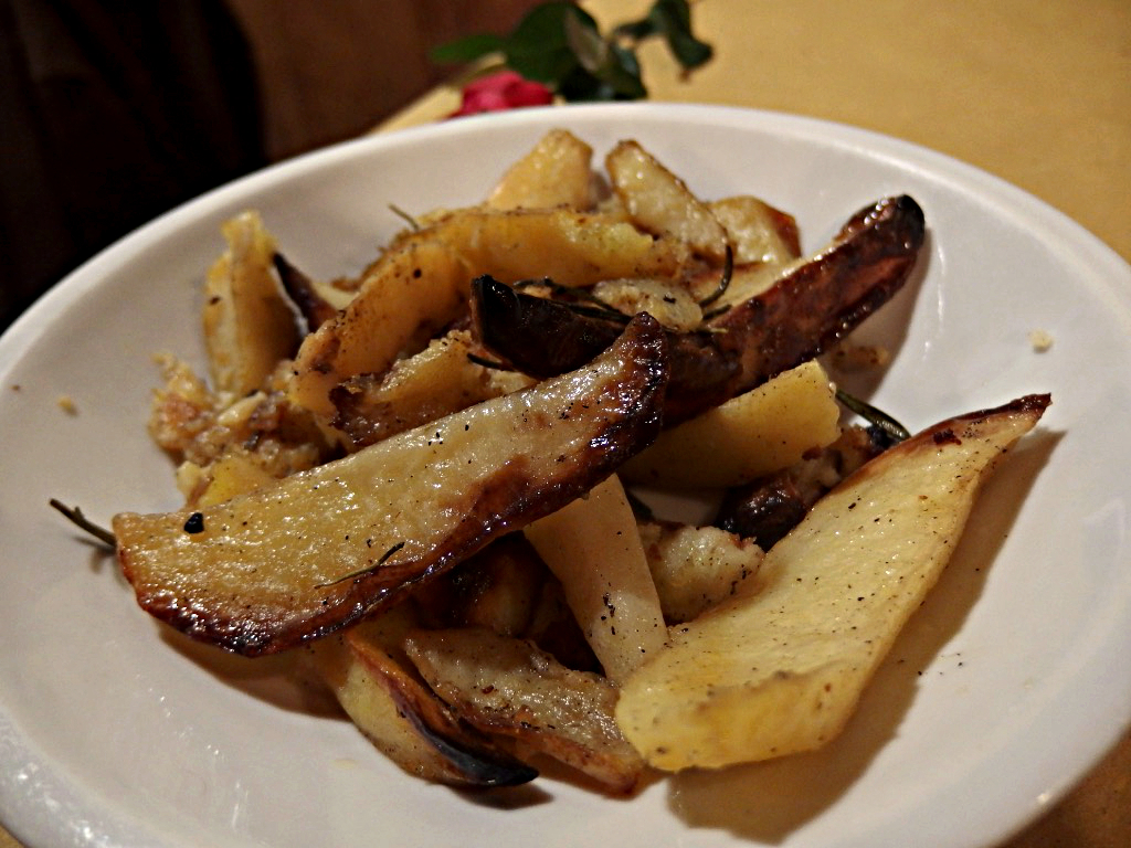 Osteria Bonelli, patate al forno