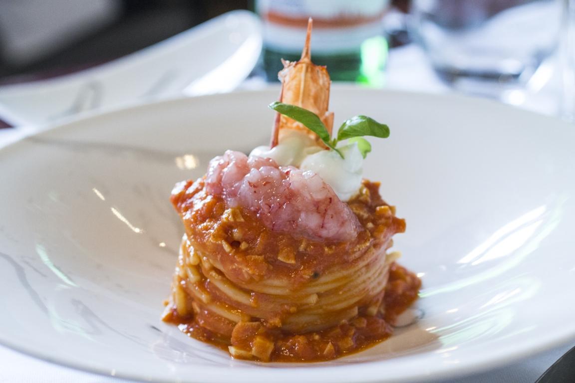 spaghettoni, Cannavacciuolo Cafè & Bistrot, Antonino Cannavacciuolo, Novara