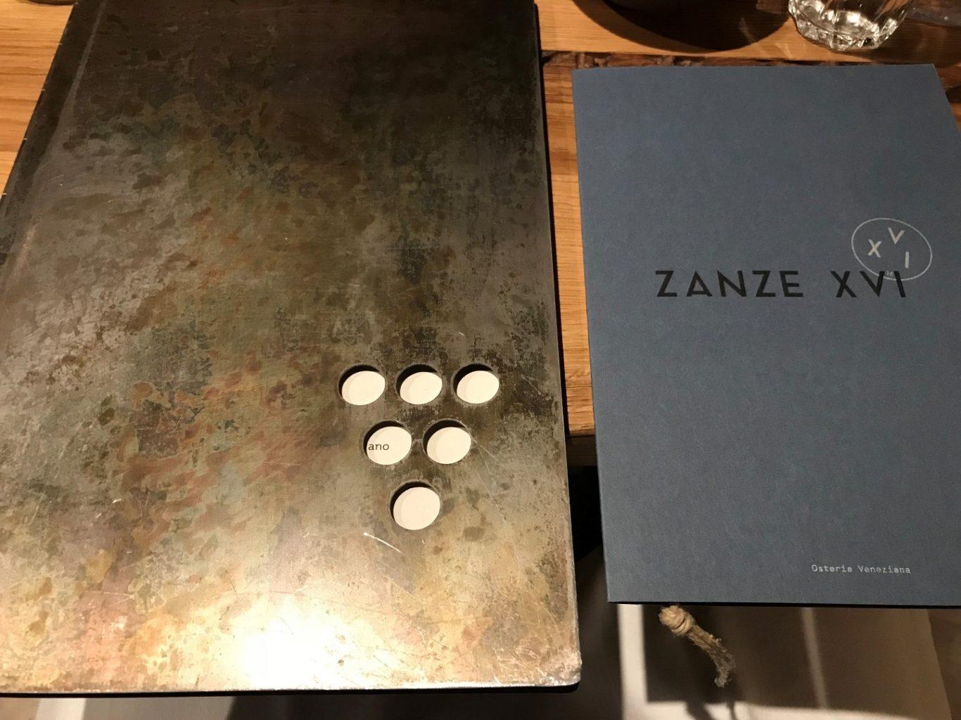 Zanze XVI, Venezia