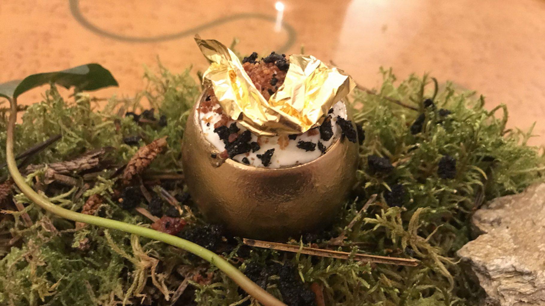 Amistà 33, Uovo d'oro
