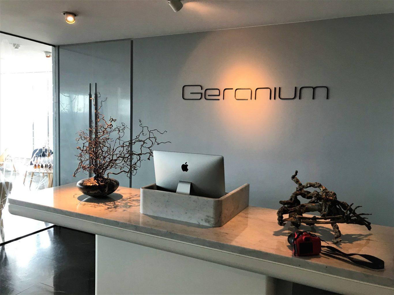 Geranium, Copenaghen, Rasmus Kofoed