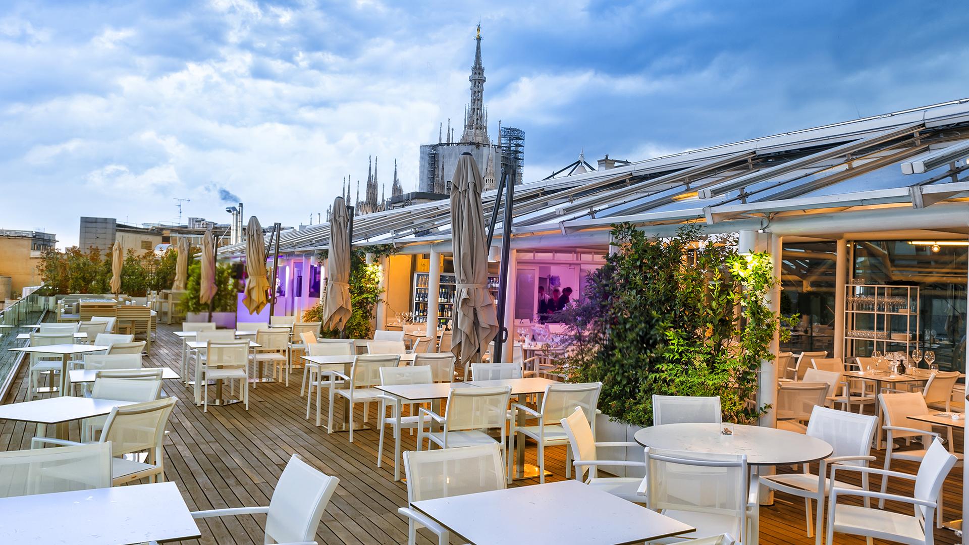 Apre Taste on Top a Milano, alta cucina e drink panoramici
