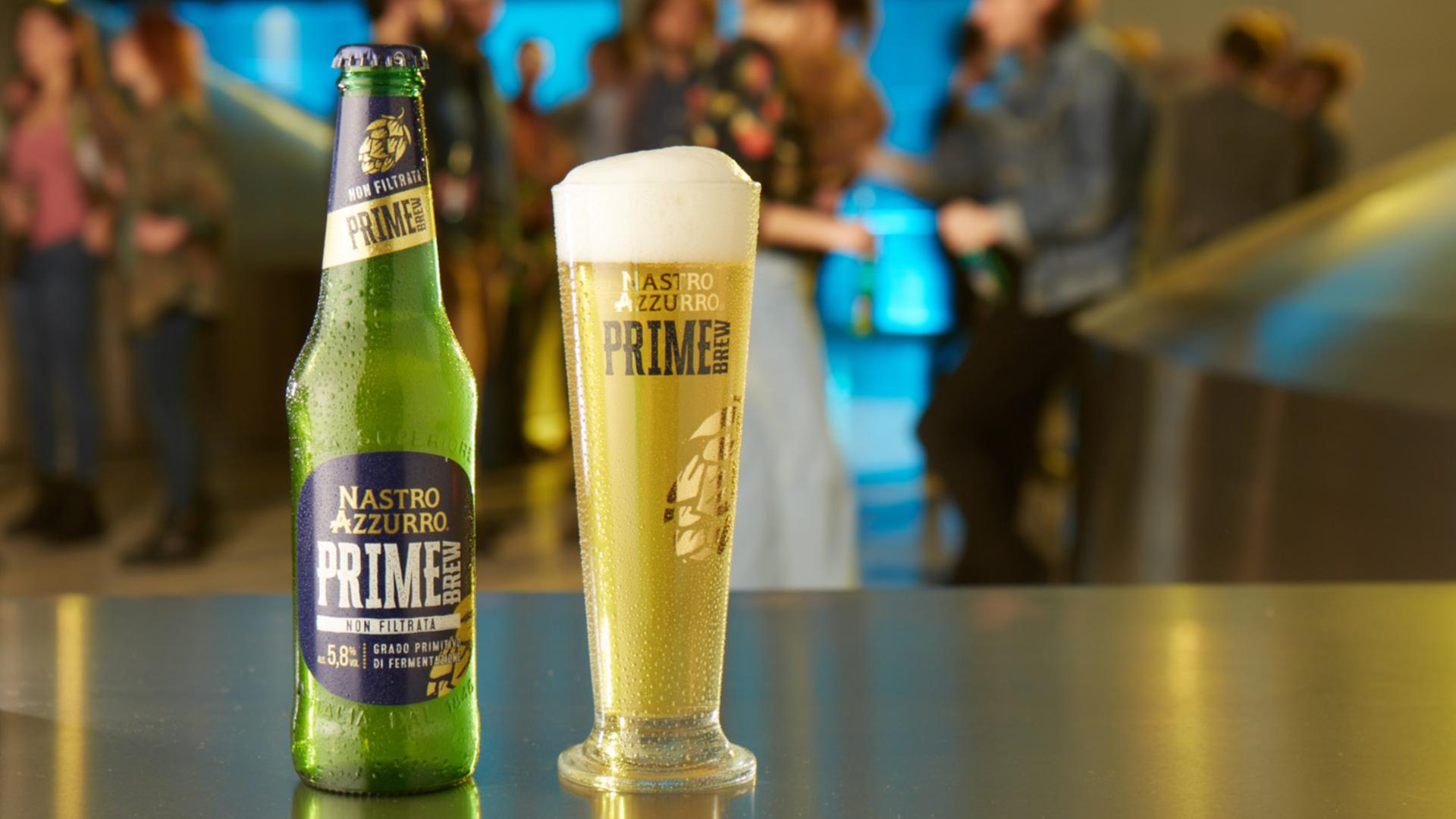 Nastro Azzurro lancia la nuova Prime Brew