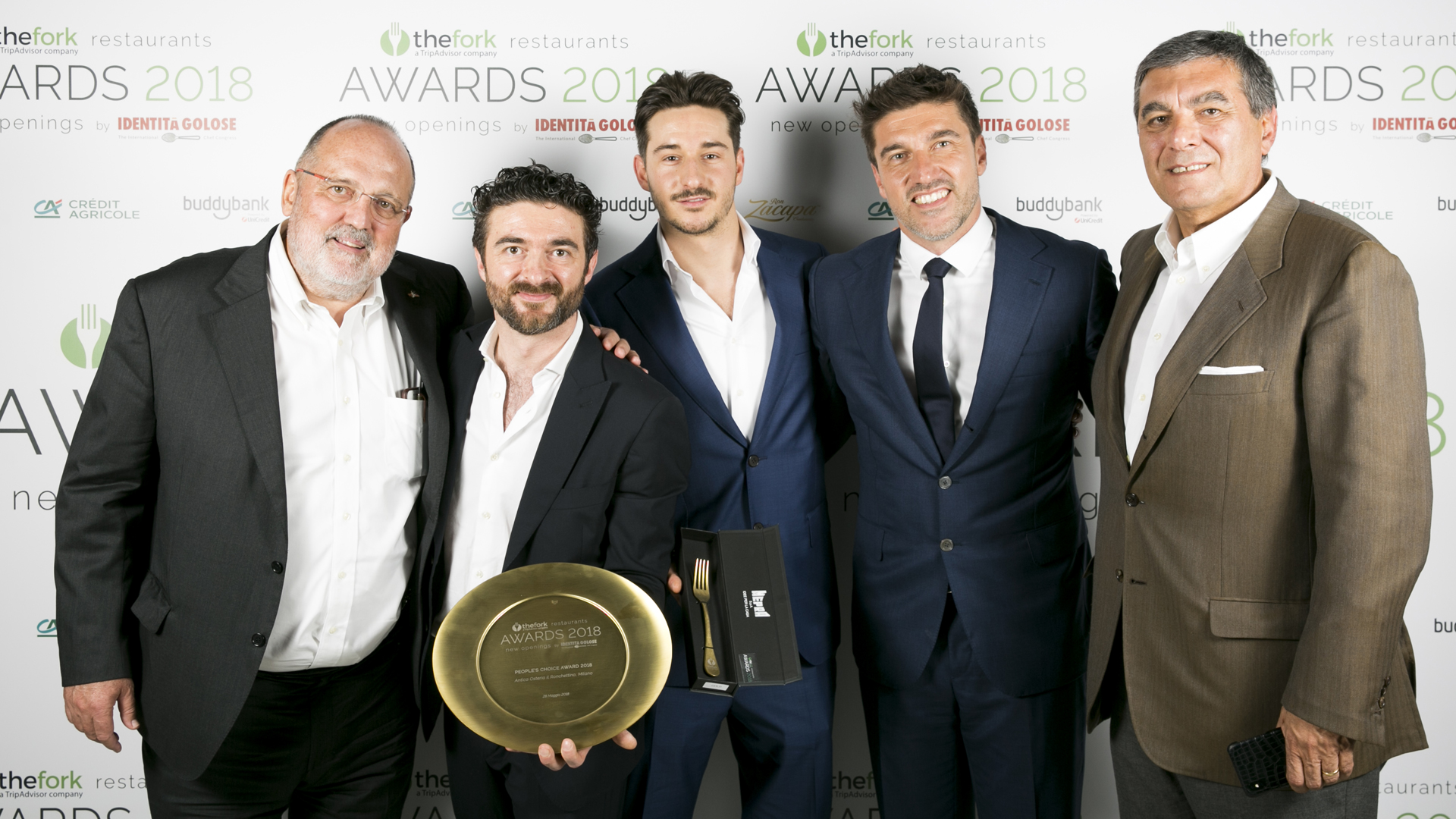 Antica Osteria il Ronchettino vince The Fork Restaurant Awards