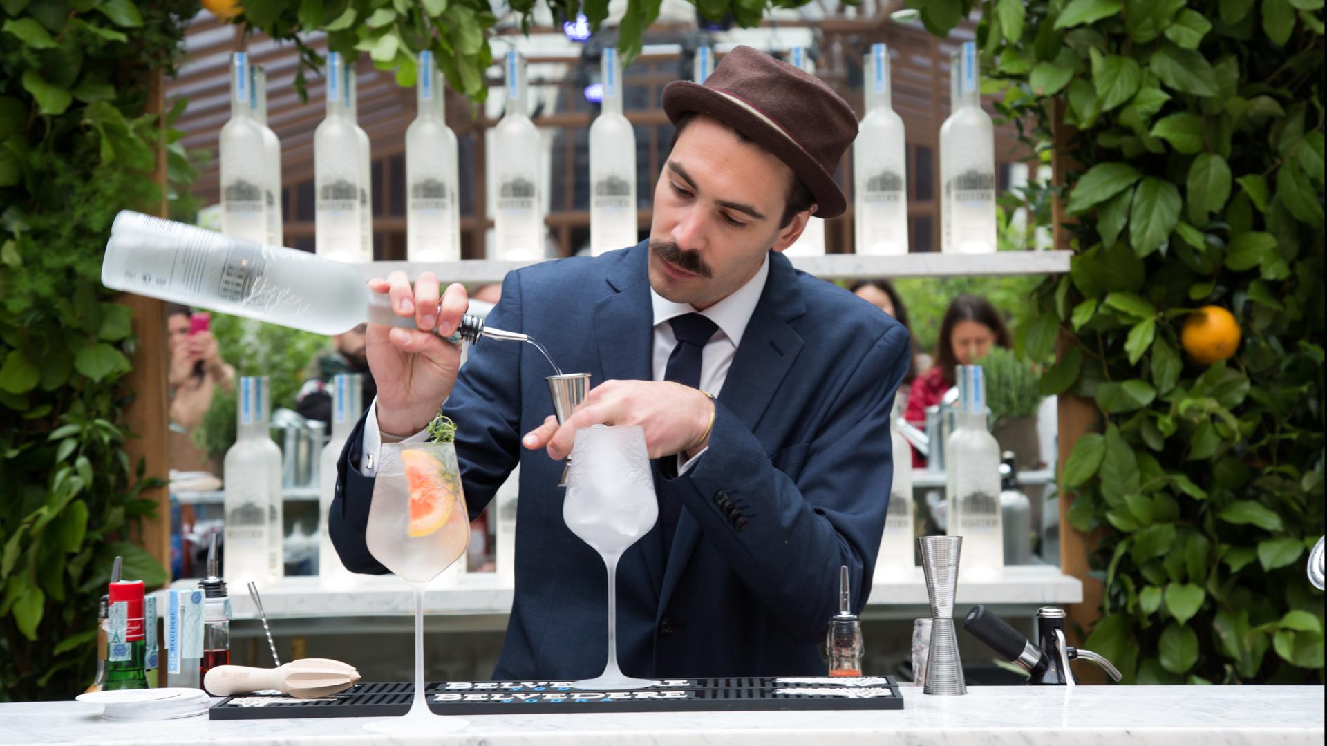 Belvedere Vodka DrinkPink, la nuova mixology tutta al naturale