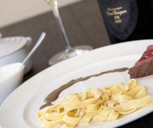 Il menu di ALMA in onore di Richard Geoffroy, Chef de cave di Dom Pérignon