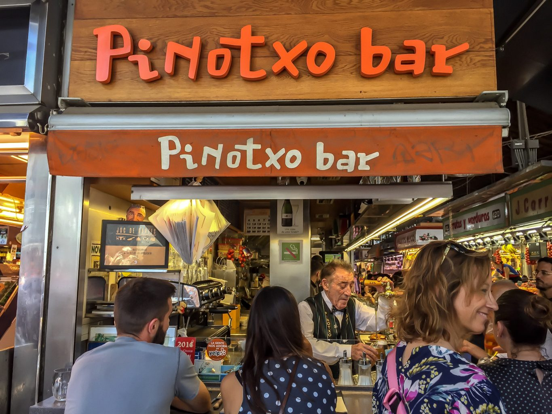 Pinotxo Bar,Bbarcellona