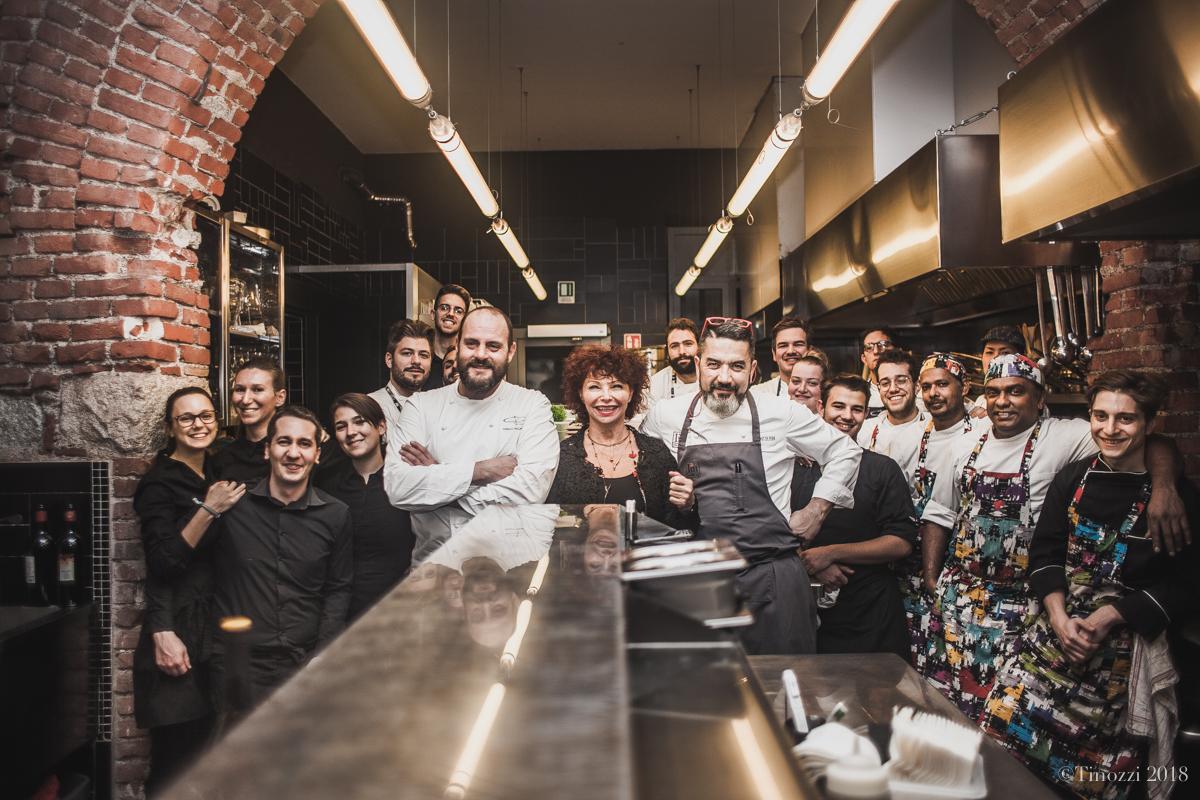 Cena a 4 mani con Ivan Milani e Errico Recanati