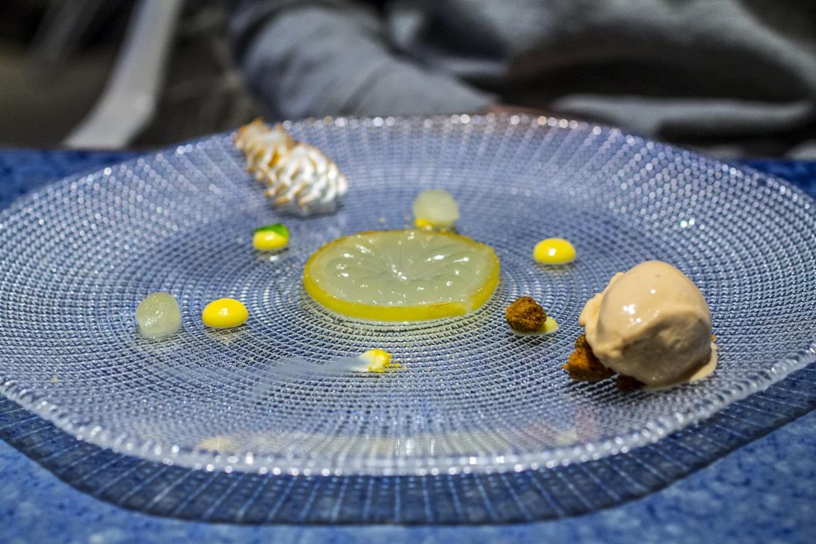 torta al limone, Disfrutar, due stelle michelin, Barcellona, Spagna