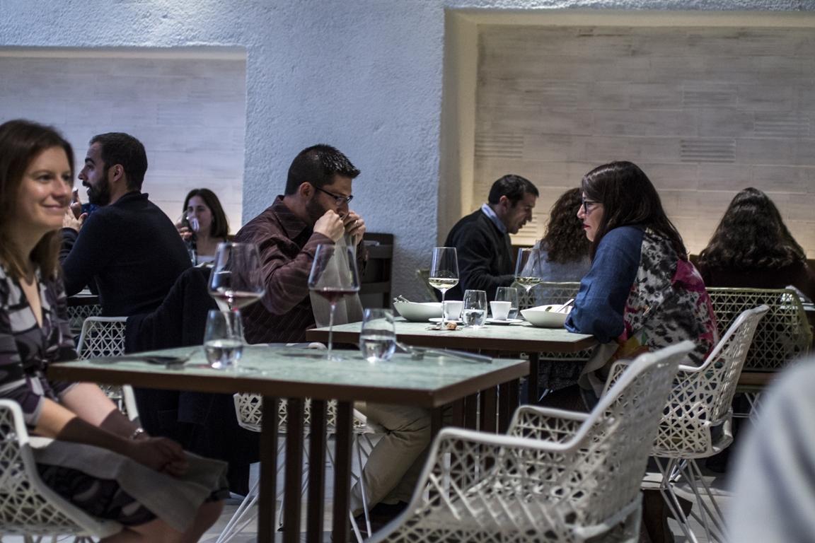 locale, Disfrutar, due stelle michelin, Barcellona, Spagna