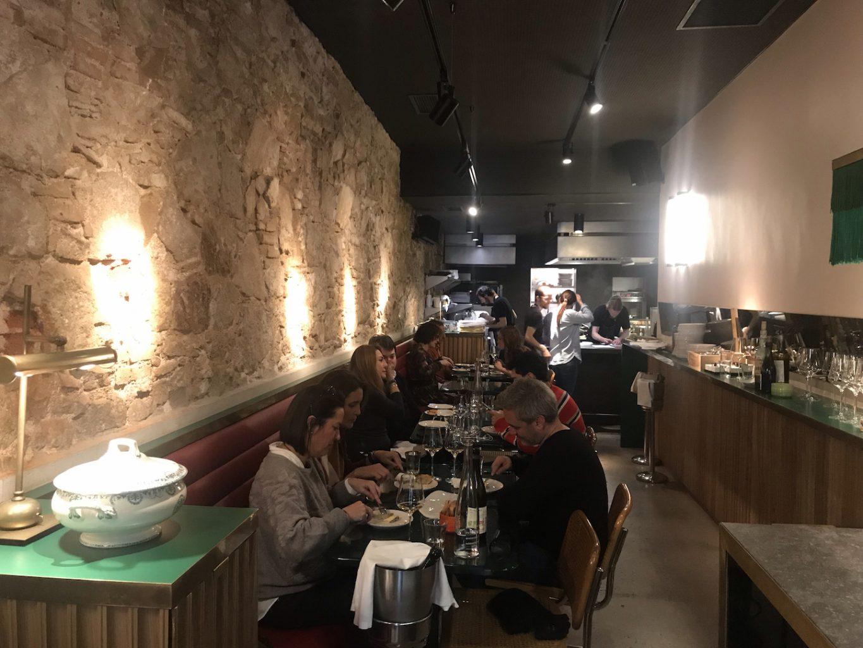 Sala, Gresca Bar, Rafael Peña, Tapas Bar, Barcellona, Spagna