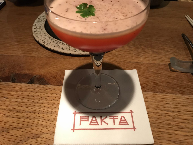 Cocktail, Pakta, Jorge Muñoz, Albert Adrià, Barcellona, Spagna, Michelin