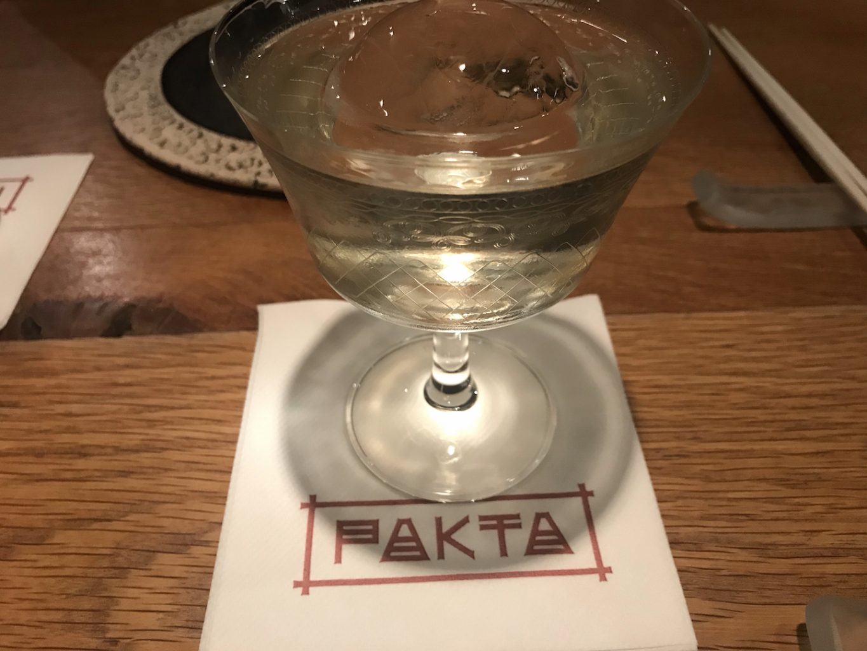 Cocktail, Sake, Pakta, Jorge Muñoz, Albert Adrià, Barcellona, Spagna, Michelin