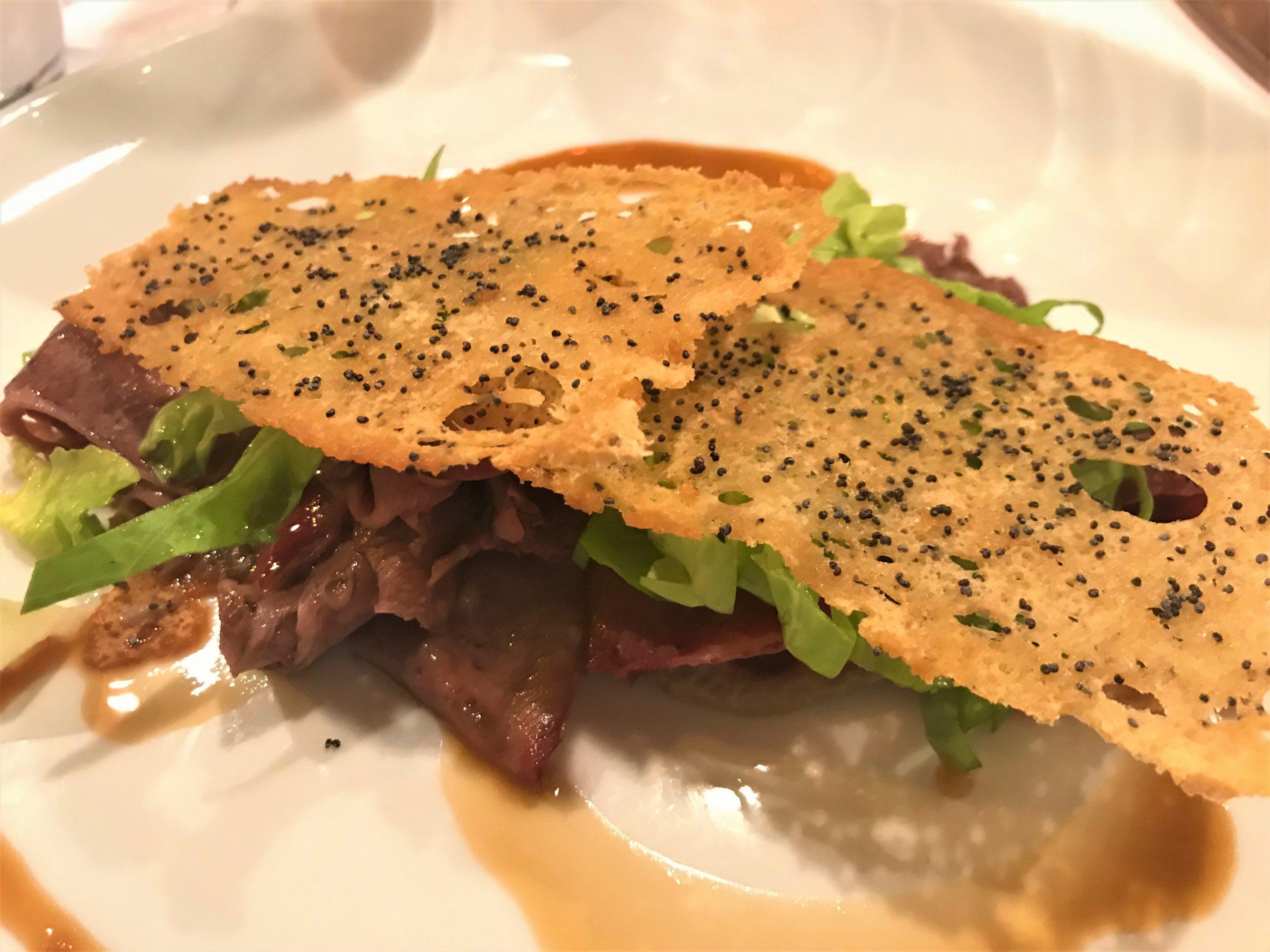 Sandwich di Lingua, Locanda 4 Cuochi, Dario Fracasso, Verona, Veneto