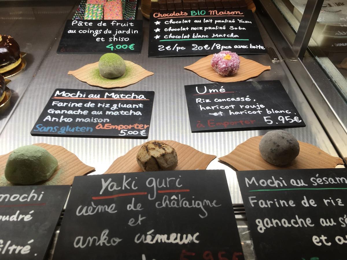 wagashi, Tomo, Parigi