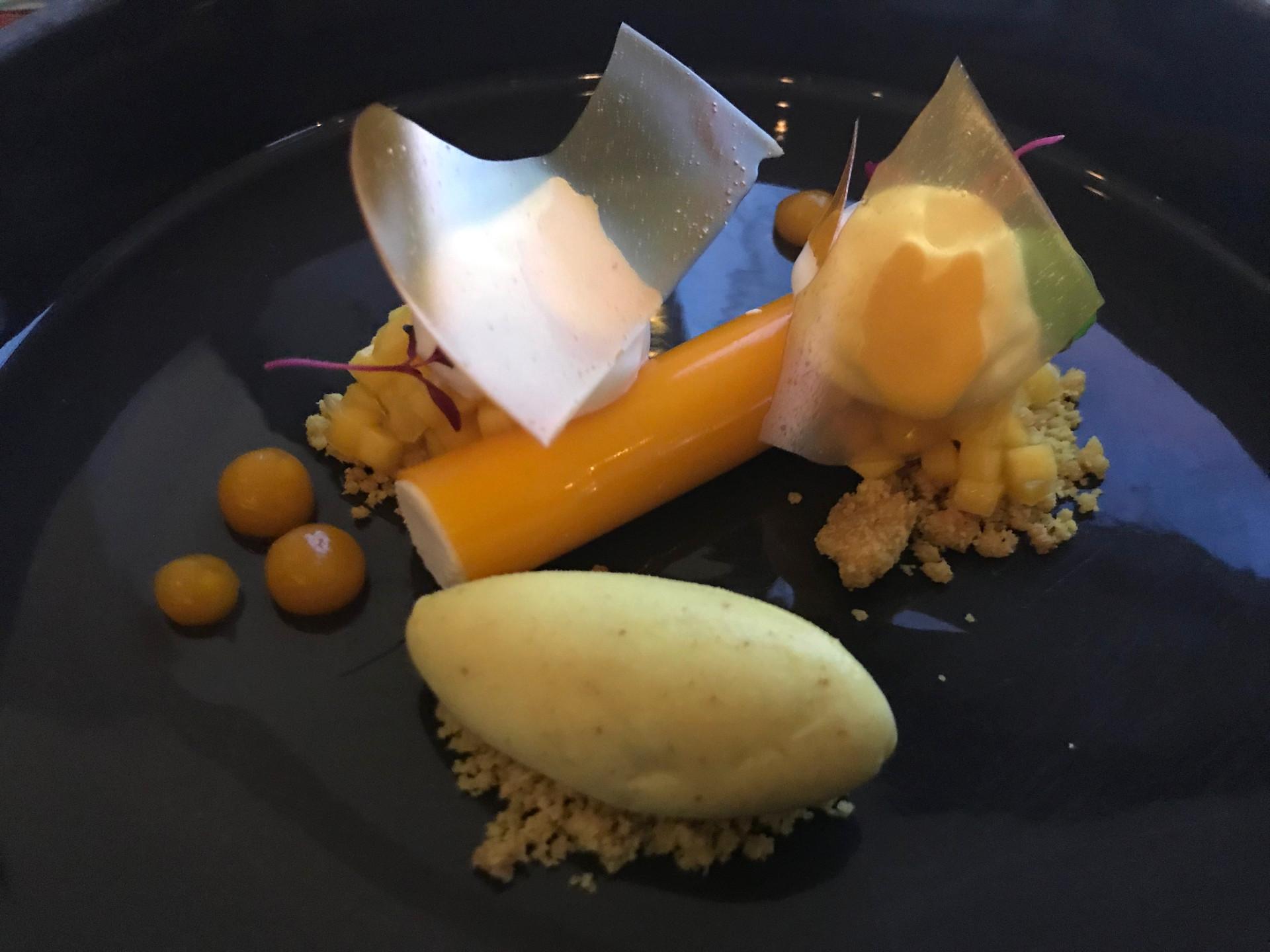 Dessert, Mango, Carmine di Donna, Torre del Saracino, Gennaro Esposito, Vico Equense, Campania