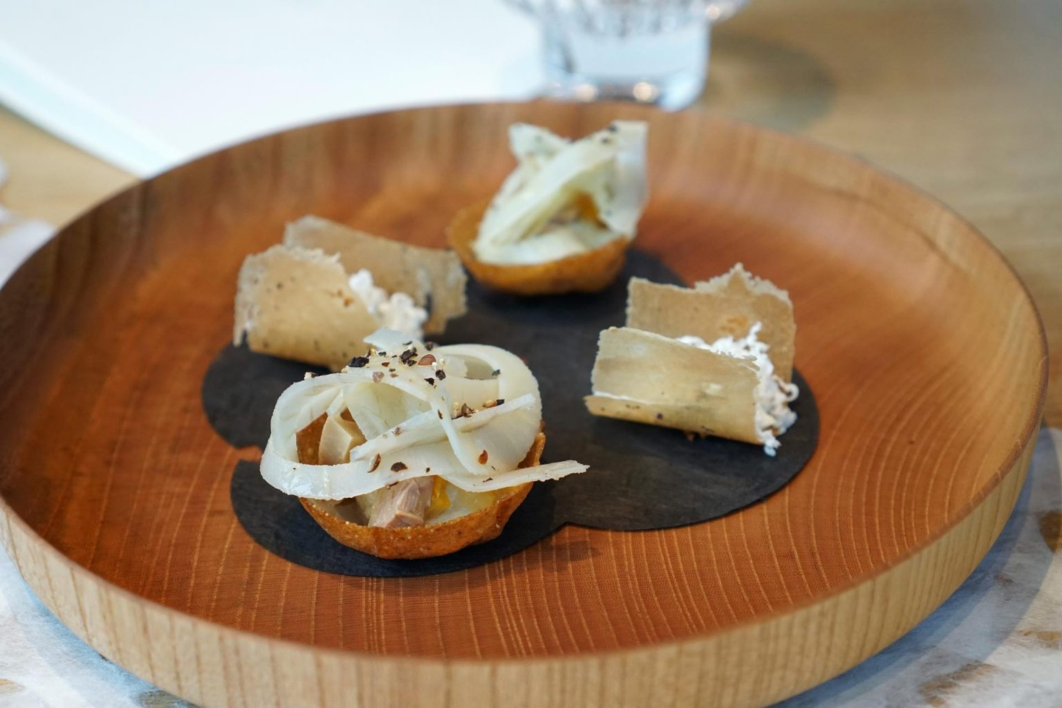 Troisgros, Ouches, appetizer