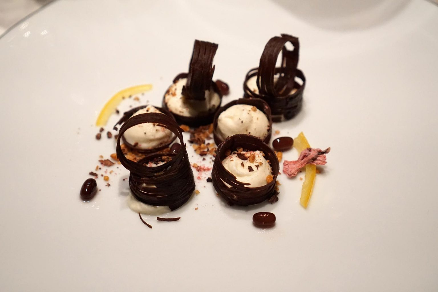 Troisgros, Ouches, dessert