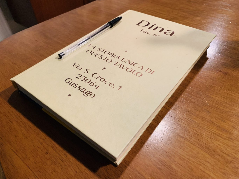 Il quaderno, Gipponi, Dina