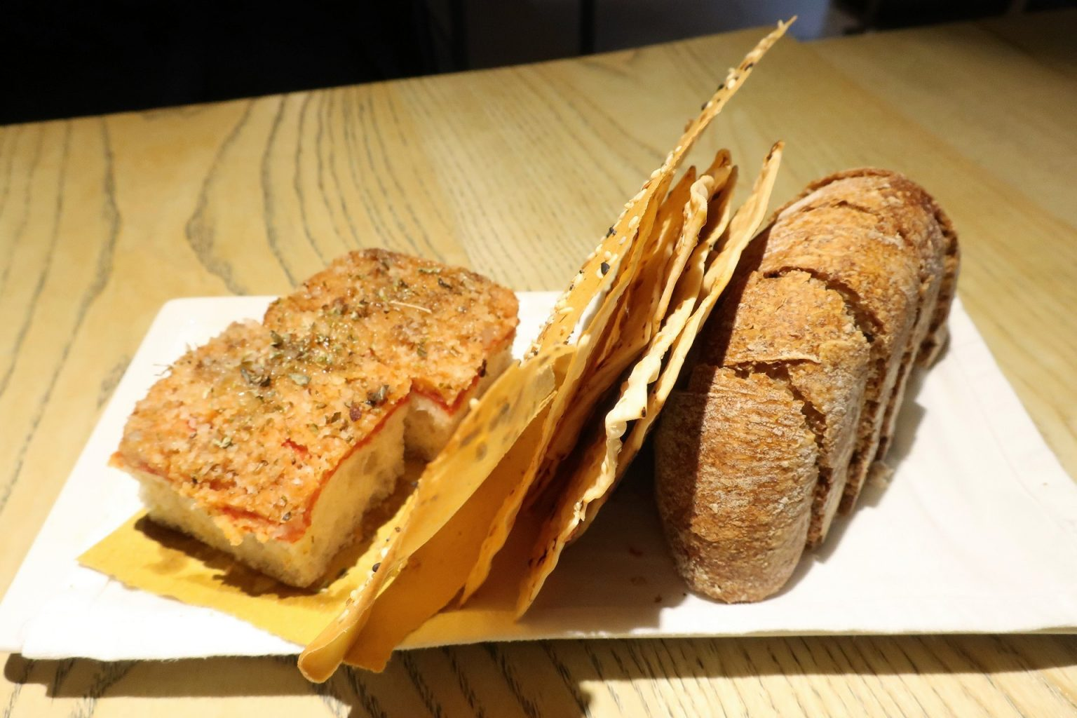 Pane. Grano di pepe.