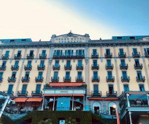 La festa al Grand Hotel di Tremezzo